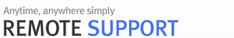 Anytime, anywhere simply!! Anysupport remotesupport